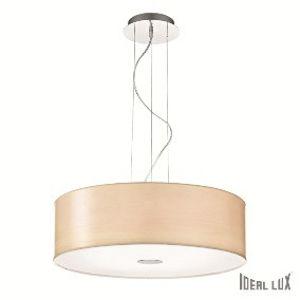 Ideal Lux WOODY SP5 BIANCO SVÍTIDLO ZÁVĚSNÉ 087719