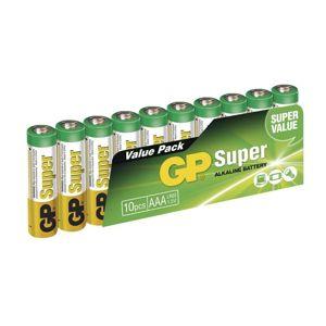 GP Alkalická baterie GP Super LR03 (AAA) fólie 1013100102