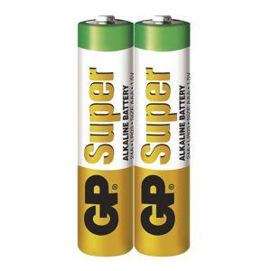 GP Alkalická baterie GP Super LR03 (AAA) fólie 1013102000