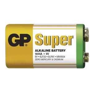 GP Alkalická baterie GP Super 6LF22 (9V) fólie 1013501000