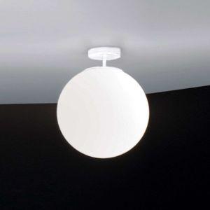 Ailati Skleněné stropní světlo Sferis, 30 cm, bílé