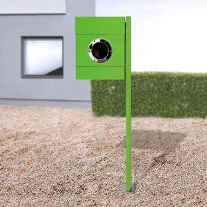 Absolut/ Radius Stojanová poštovní schránka Letterman II zelená