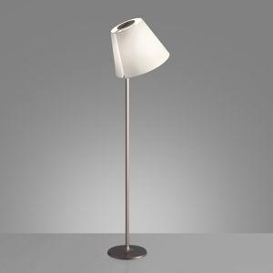 Artemide Artemide Melampo stojací lampa, 163 cm, bronz ecru