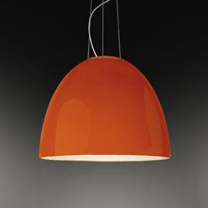 Artemide Artemide Nur Gloss závěsné světlo, oranžová