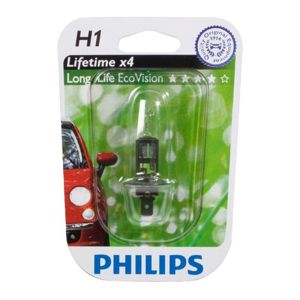 Philips H1 Long Life EcoVision 12V 12258LLECOB1