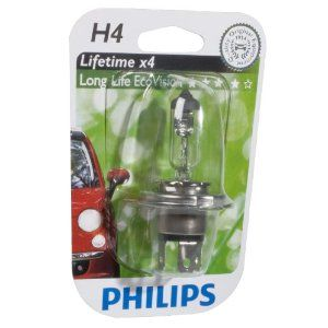 Philips LongLife EcoVision 12342LLECOB1 H4 P43t-38 12V 60/55W
