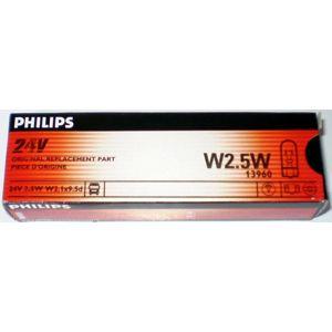 Philips W2,5W 24V 13960CP