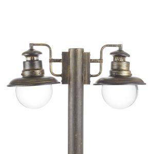 Brilliant Stojací lampa Artu 2 žár., černozlaté