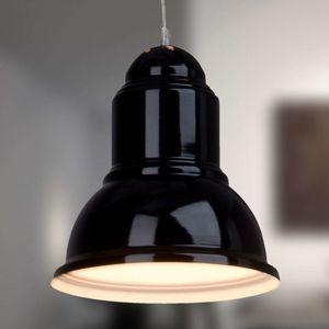 Brilliant Černé závěsné světlo Almira