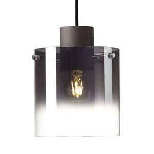 Brilliant Závěsné světlo Beth, kouřové sklo, jednožárovkové
