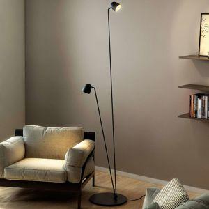 B.lux Flexibilní LED stojací lampa Speers F černá