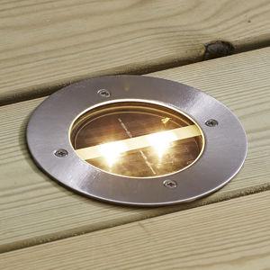 Best Season Kulaté LED solární svítidlo Decklight