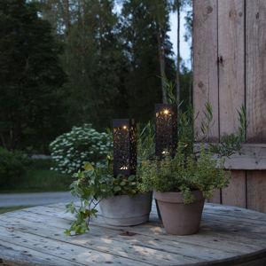 Best Season Solární LED dekorační světlo Izola zemní hrot 2 ks