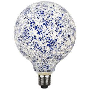 Best Season LED žárovka G130 E27 4 W Mosaic modrá 4 000 K