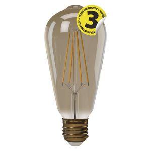 EMOS LED žárovka Vintage ST64 4W E27 teplá bílá plus 1525713210 Teplá bílá