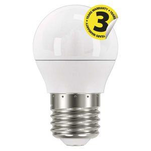 EMOS LED žárovka Classic Mini Globe 6W E27 studená bílá 1525733102 Studená bílá