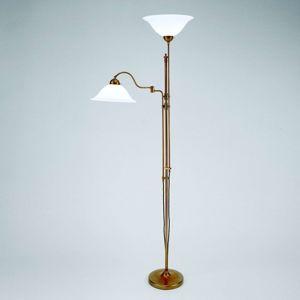 Berliner Messinglamp Dvouzdrojové osvětlení stropu Gustav