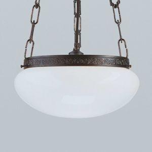 Berliner Messinglamp Anticky působící závěsné světlo Verne