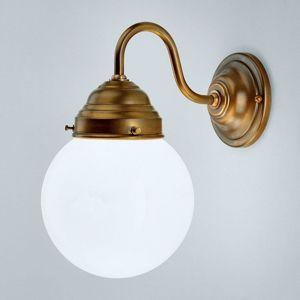 Berliner Messinglamp Larry nástěnné světlo z mosazi