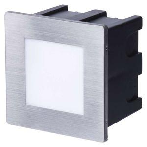 EMOS LED orientační vestavné svítidlo 80×80 1,5W neutr. bílá IP65 1545000110