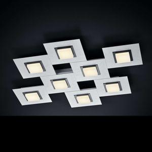 BANKAMP BANKAMP New Quadro stropní světlo 8ž. hliník