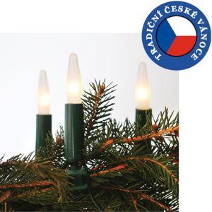 Exihand Vánoční řetěz ASTERIA 16xE10/14V/230V bílá EX0002