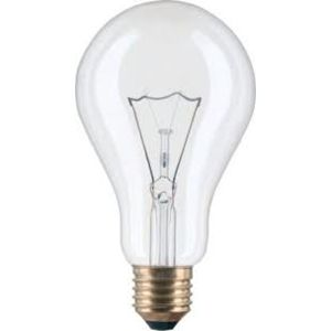 Žárovka 200W E27 240V Čirá