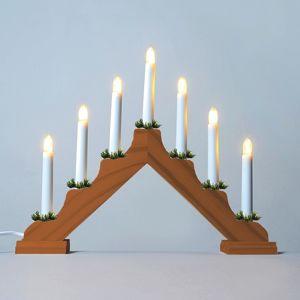 Adventní svícen 2262-130 dubový, 7x34V/3W KONST