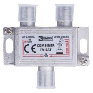 EMOS Slučovač satelitního a anténního signálu (TV/SAT) 2503000400