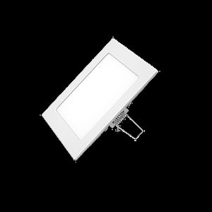 NBB RIKI-V LED 230-240V 6W 3000K, bílé, pr.120mm IP40 253420110