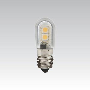 NBB LED LQ LED T18 240V 0.8W E14 bílá