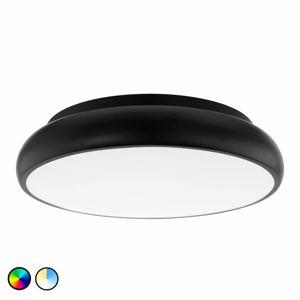 EGLO CONNECT EGLO connect Riodeva-C LED stropní světlo černé