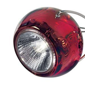 Fabbian Fabbian Beluga Colour - závěsné světlo, červené