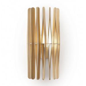 Fabbian Fabbian Stick dřevěné nástěnné světlo, cylindr
