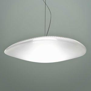 Fabbian Fabbian Loop - skleněné závěsné světlo LED 3000K