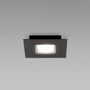 Fabbian Fabbian Quarter - černé LED stropní svítidlo 1zdr
