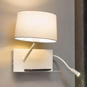 FARO BARCELONA S LED čtecím ramenem - nástěnné světlo Handy