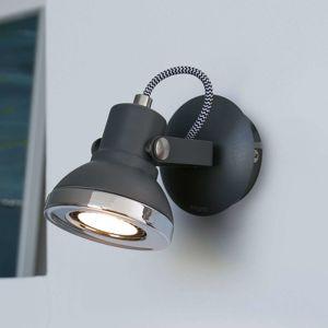 FARO BARCELONA Ring - LED nástěnné bodové svítidlo tmavošedé