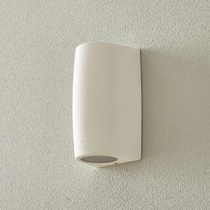Fumagalli Nástěnné světlo Marta 9,2 cm 1 zdroj bílá/ledová