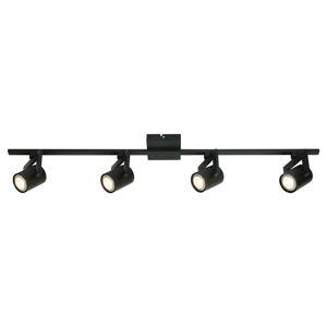 Freelight Moderní stropní světlo ValvoLED, černá, 4 zdroj