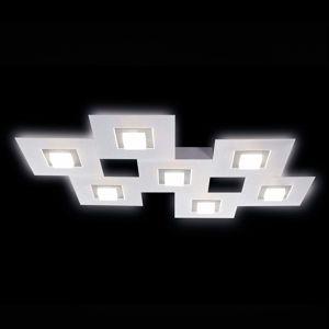 GROSSMANN GROSSMANN Karree LED stropní svítidlo, 7zdr titan
