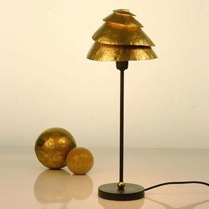 J. Holländer Stolní lampa Snail One hnědá-zlatá