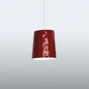 Kundalini Kundalini New York závěsné světlo, Ø 33 cm červené