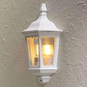 Konstmide Venkovní nástěnné svítidlo Firenze, půlka, bílé