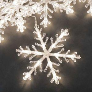 Konstmide CHRISTMAS Sněhová vločka světelný řetěz 5žár. teplá bílá 4 m