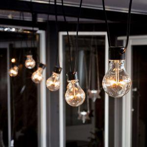 Konstmide CHRISTMAS LED světelný řetěz Biergarten, jantar