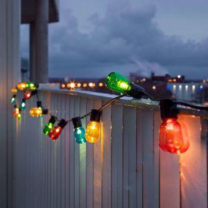 Konstmide CHRISTMAS Světelný řetěz Biergarten 40 LED kapka barevný
