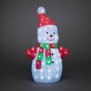 Konstmide CHRISTMAS LED osvětlení - sněhulák z akrylu