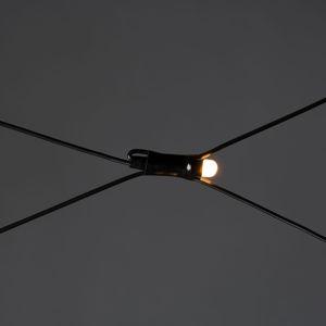 Konstmide CHRISTMAS LED světelná síť pro exteriér, 96 žár. 300x300cm