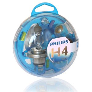 Philips Essential Box Kit H4 12V 12V 55718EBKM